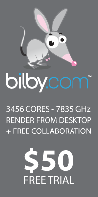 Bilby Renderfarm - just try it!